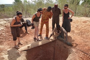 Nos projets solidaires au Bénin - le puits