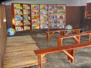 Tourisme solidaire Bénin - La Bibliothèque