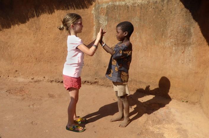 Voyage solidaire au Bénin - amies