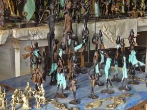 DSC00024 Burkina - Ouaga (Statuettes en Bronze)