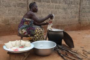 Microcrédits - Vendeuse d'Akassa bénéficiaire