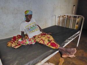 Tourisme solidaire Bénin - Femme à la Maternité