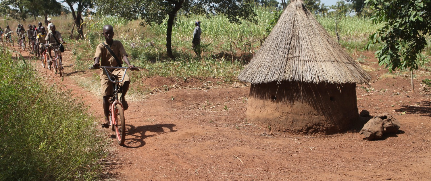 Toursime solidaire Bénin - Retour à vélo