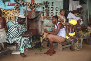 Tourisme solidaire Bénin - Cérémonie Vaudou