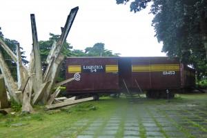 Voyage équitable Cuba - Train blindé à Santa-Clara