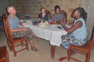 Voyage au Bénin - Rencontre chez Catherine