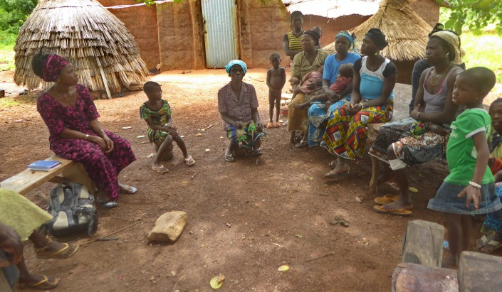 Séjour Bénin - Prisca interprête