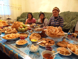 Voyage équitable au Kirghizstan - La fête