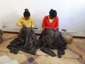 Voyage équitable à Madagascar - Broderie