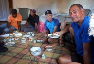 Voyage utile à Madagascar - Déjeuner chez l'habitant
