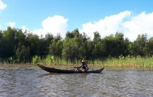 Tourisme olidaire à Madagascar - sur le canal des Pangalanes