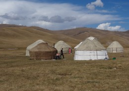 Voyage Kirghizstan -Yourtes Son Kul