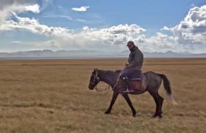 Tourisme solidaire au Kirghizstan - lac Song-Kol