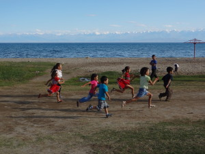 Voyage solidaire au Kirghizstan - enfants