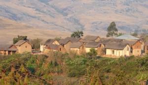 Voyage équitable à Madagascar - Village typique