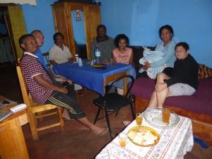 tourisme solidaire - repas partagé chez l'habitant Antsirabe