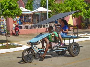 Tourisme solidaire Cuba - Vélotaxi à Remedios