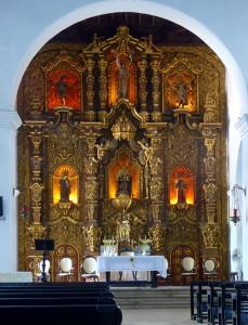 Voyage équitable Cuba - Le Choeur de l'église de Remedios