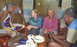 Voyage équitable Bénin - Rencontre et accueil