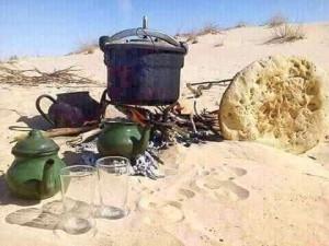 Nuit dans le désert - Tourisme solidaire Tunisie