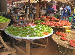 Tourisme équitable Bénin - Marché Abomey