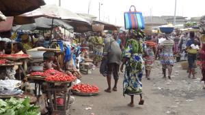 Voyage solidaire Bénin - Marché Dantokpa