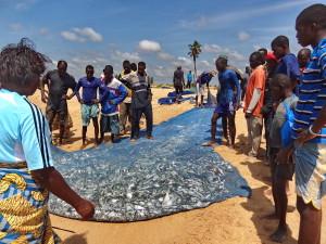 Tourisme responsable Bénin - Pêcheur au Filet