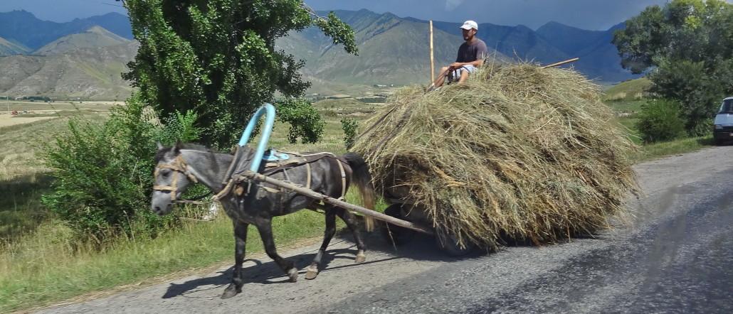 Tourisme équitable Kirghizstan