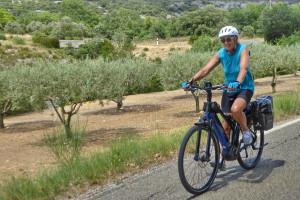 Le pays du Ventoux à vélo